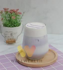 Taro Milk Foam
